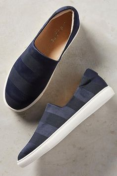 I love the substle stripe of Anthropologie's Calvin Sneakers. They're perfect…