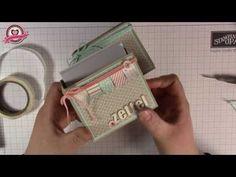 ▶ Tutorial: Zettelbox selber basteln - Stampin' Up! - YouTube