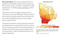 Plummeting Summer Temperatures In Wisconsin  Summer afternoon temperatures in Wisconsin have dropped about ten degrees since the 1930s. The hottest days are also down about 10 degrees. And the number of hot days has declined by 90%. US govern...