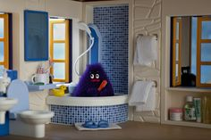 https://flic.kr/p/ahfrGW | Grimace enjoys a weekend getaway at his Malibu beach house... | tadasrevolution.com