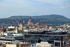 Parlamento desde Catedral de San Esteban, Budapest