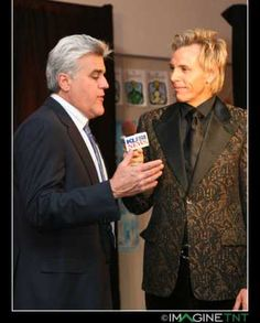 my exclusive interview on TV with my dear friend JAY LENO