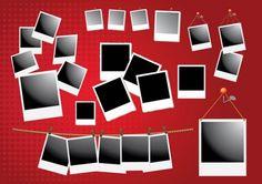 Polaroid Frame Vectors