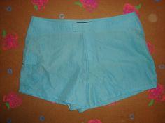 Board Shorts Size XL 15 Aqua Blue
