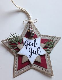 Christmas Gift Tags, Christmas Cards, Christmas Ornaments, Handmade Tags, Card Tags, Make Your Own, Cricut, Paper Crafts, Taps