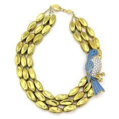 Bells & Whistles: Bird Necklace