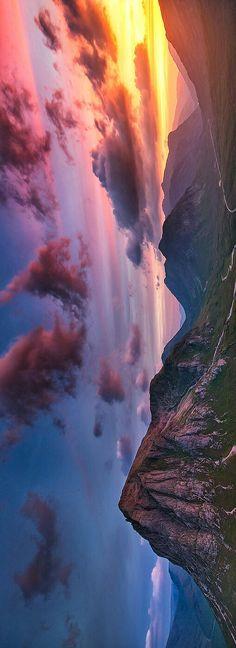 Sunset Scotland - Grzegorz Piechowicz