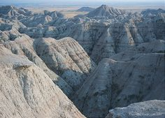 Badlands, Black Hills, SD--Black Hills Motorcycle Rides, the book.