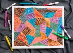 Patchwork Quilt lesson plan