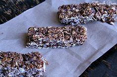 {No Bake} Chocolate Chocolate Chip Granola Bars - Heathers French Press