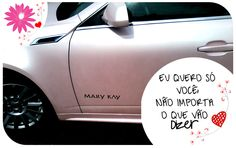 Eu também quero um desse !!! Carro cor-de-rosa Mary Kay   #consultorasdobrasil #consultoramarykay #marykay