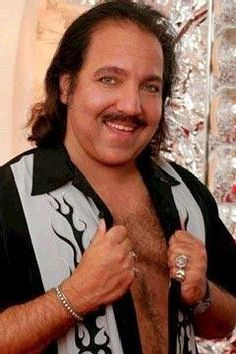 It takes a classy guy like Ron Jeremy to keep this classic 'stache in style