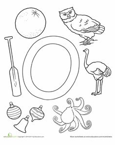 math worksheet : 1000 images about o is for alphabet on pinterest  octopus  : Letter O Worksheets Kindergarten
