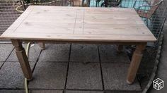 Belle table salle à manger en bois massif PONCEE Ameublement Val-de-Marne - leboncoin.fr