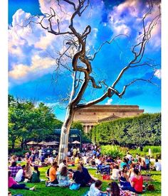 Sangria, live jazz, good weather is all it takes for a great #Friday evening of #JazzInTheGarden at the National Gallery of Art. For more info on events in DC, visit  http://www.inndc.com/calendar.php #tgif