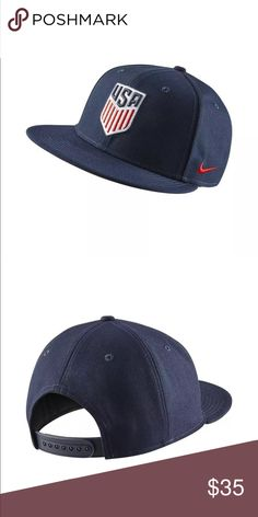 New USA national soccer hat unisex adjustable New Nike Accessories Hats