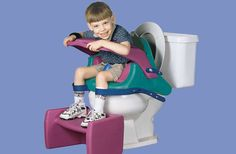 The Aquanaut Toilet Chair by OttoBock Kids is great for children who need support to maintain a sitting posture.