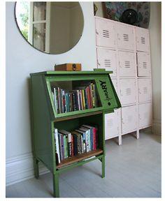 Repurposed Newspaper stand