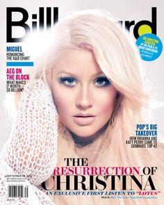 Christina Aguilera discusses Lotus in Billboard magazine