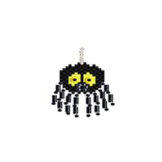 Spider Beaded Earring Pattern | Bead-Patterns.com
