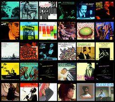 Colección de portadas de discos de Jazz. | portafolio blog