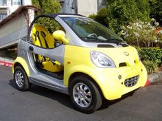 E Vul Car Future Pink Futuristic Auto Fantastic