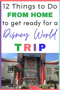 12 things to do from home to get ready for your next Disney World trip! Whether you've already started planning your next Orlando vacation, you're simply counting the days until you leave or you're just enjoying dreaming of your next trip - these tips are for you! They are concrete things to do that will both prepare you for your Disney vacation AND get you Disney Hotels, Walt Disney World Vacations, Disney Trips, Orlando Vacation, Vacation Deals, Buy Disney Tickets, Disney World With Toddlers, Disney Gift Card, Best Family Vacations
