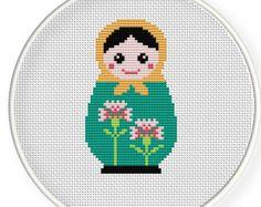 Instant DownloadFree shippingCross stitch pattern por danceneedle