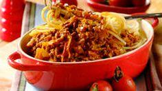 Traditional Spaghetti Bolognaise
