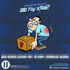 Back Injury, Safety Tips, Workplace, Construction, Facebook, Building