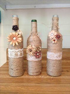 Reutilizar Materiais #garrafas #reciclagem