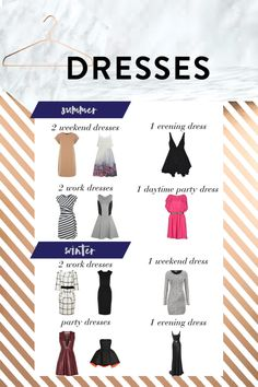 A Complete DressWardrobe........ as if a dress wardrobe is ever complete