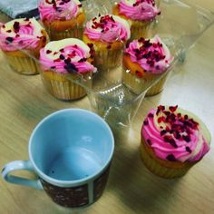 #thankyou #rosewatermuffin #theatresixcoffeeaddicts #kingsway #drbean no coffee for me