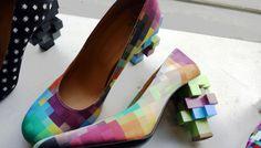 8-bit shoes.