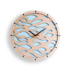 Ukrainian manufacturer of interior design por Wall Clock Wooden, Wood Clocks, Wood Wall, Wall Watch, Kitchen Wall Clocks, Wood Mosaic, Wall Clock Design, Interiores Design, Modern Wall