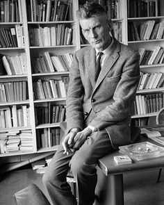 Samuel Beckett by Gisèle Freund, 1965 Samuel Beckett, Cecil Beaton, James Joyce, Photographs Of People, Portraits, Writers Write, Documentary Photography, Hadley, Comedians