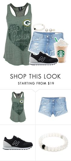 """colin kaepernick makes me mad."" by madfashionaddict ❤ liked on Polyvore featuring rag & bone/JEAN, New Balance and Honora"
