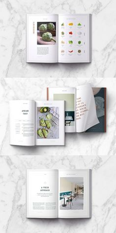 Sonder Cookbook / Recipe Book Template Best Picture For Food Book app ui For Your Taste You are looking for something, and it is going to tell you e Layout Design, Graphisches Design, Menu Design, Food Design, Graphic Design, Recipe Book Templates, Cookbook Template, Recipe Book Design, Cookbook Design