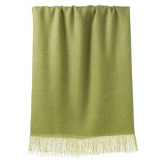 "West Elm's ""Favorite Throw"" in Bean Sprout. $23 on sale."