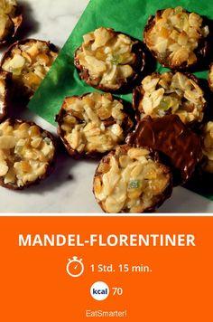 Mandel-Florentiner - smarter - Kalorien: 70 kcal - Zeit: 1 Std. 15 Min. | eatsmarter.de