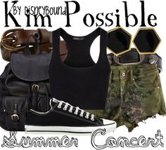 Ahhhh!! Disney Bound: Kim Possible #Disney #KimPossible