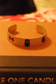 Doctor Who  Eleventh Doctor Bracelet by piperandrory on Etsy, $5.00