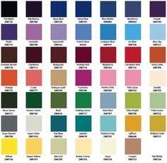 Inspiring Krylon Spray Paint Color Chart 6 Metallic More