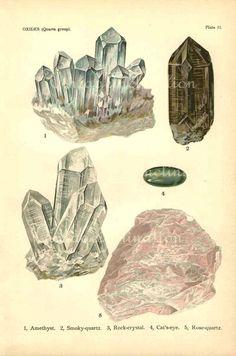 Minerals (upper left!) via Etsy.