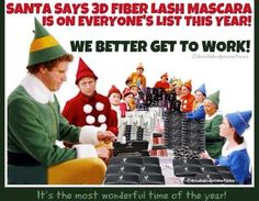 The best way to spread Christmas cheer is singing loud for all to hear....that and 3D Fiber Lash Mascara! http://www.youniqueproducts.com/lookinglovelywithkarenmichelle