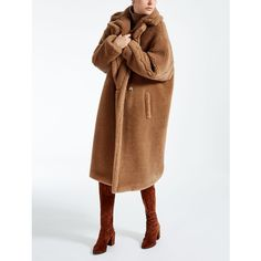 Teddy Bear Icon Coat ❤ liked on Polyvore featuring outerwear and coats
