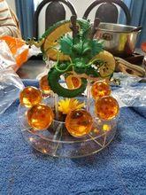 15 cm Dragon Ball Z Figura de Ação Verde Shenlong Shenron PVC figuras Brinquedos 7 Pcs 3.5 cm Dragon Ball Z Bolas De Cristal E uma Prateleira presente Loja Online   aliexpress móvel