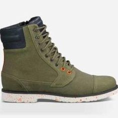 Teva Men's Durban Tall Waxed Canvas Boots for $34 pickup at REI #LavaHot  http: