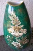 """Goldrausch"" Designed by Walter Mutze. Handpainted. Backstamp 1957+ 27.5 cm  Photo courtesy of Ebay seller stefanq2006 Vases, Hand Painted, Ebay, Design, Decor, Gold Rush, Decoration, Dekoration, Inredning"