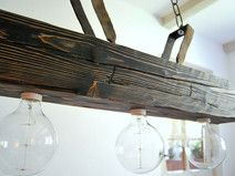 Ceiling lamp - Old beam